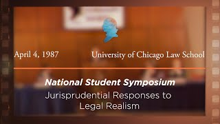 Click to play: Panel II: Jurisprudential Responses to Legal Realism [Archive Collection]