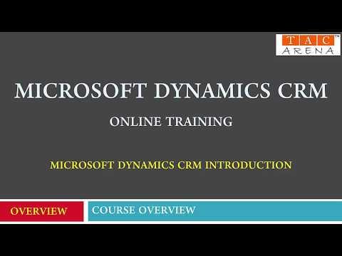 Microsoft Dynamics CRM Online Training - Microsoft Dynamics 365 Online Training
