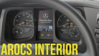 Mercedes Arocs Trucks Interior
