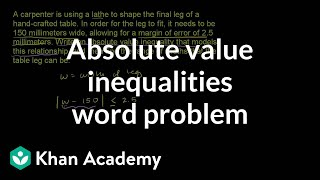 Writing and using inequalities