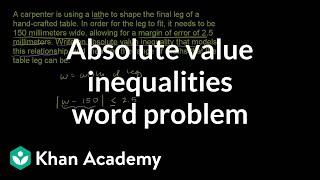 Writing and using inequalities