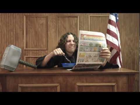 """I'm Da Judge"" - Matt Cline - Conservative Funny Supreme Court Judge Song MattClineOnline.com"