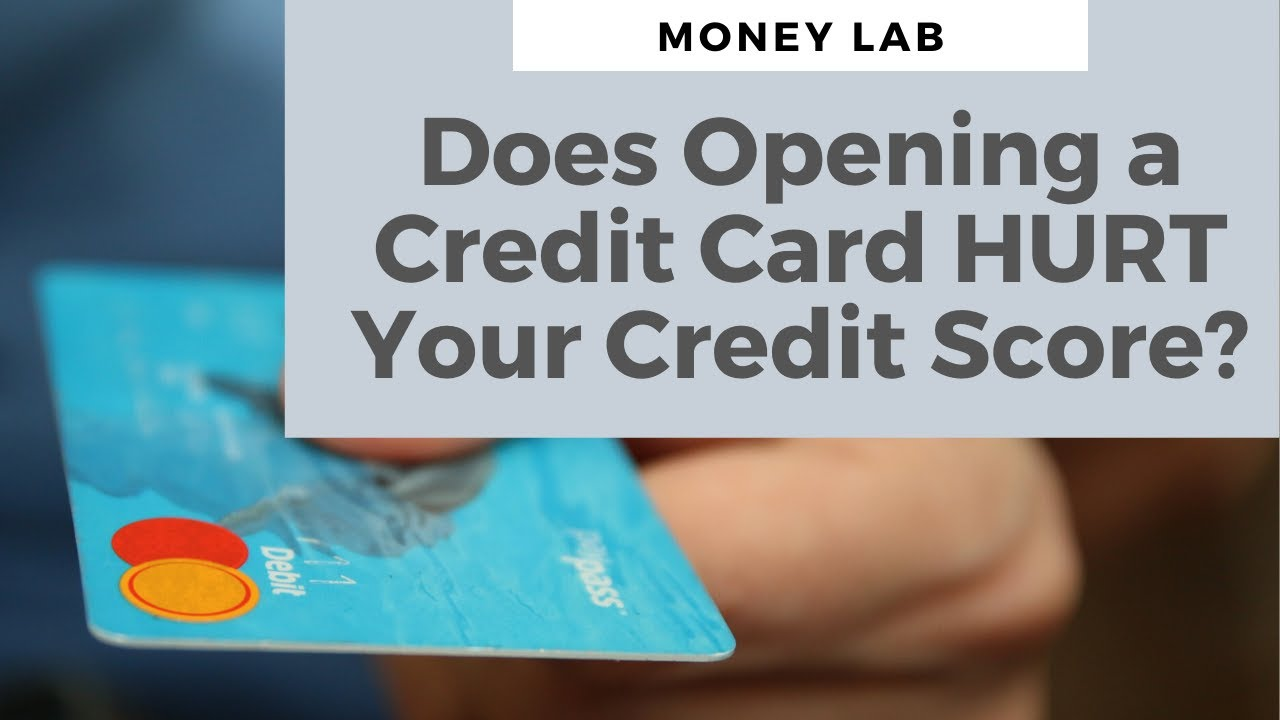 Does Opening a New Charge Card Hurt Your Credit History?