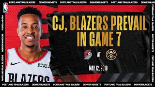 McCollum's CLUTCH Game 7 Performance Leads Portland | #NBATogetherLive Classic Game