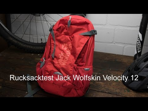 Rucksack Test Jack Wolfskin Velocity 12