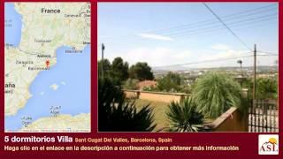 preview picture of video '5 dormitorios Villa se Vende en Sant Cugat Del Valles, Barcelona, Spain'