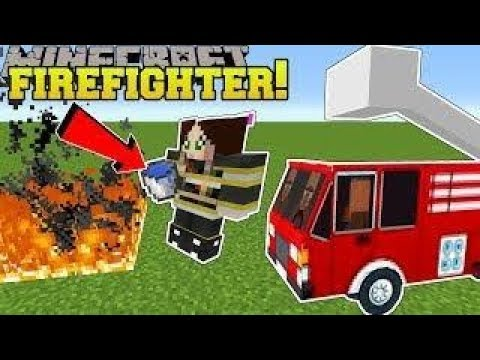 , title : 'PopularMMOs Pat and Jen Minecraft  WE BECOME FIREFIGHTERS!! - FIRE FIGHTING SCHOOL Custom Map'