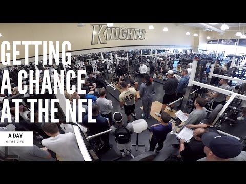 GETTING A CHANCE AT THE NFL!