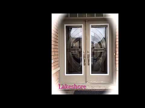 WROUGHT IRON & DECORATIVE GLASS DOOR INSERTS Mp3