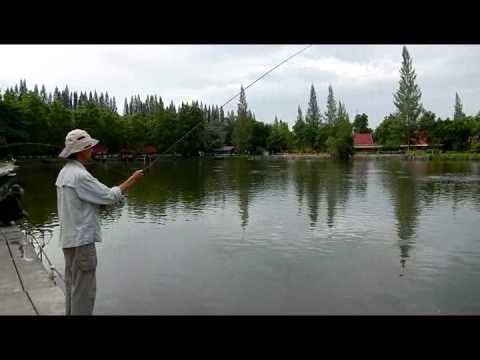 Pond Fly Fishing with Two-handed Rod – Roll Cast