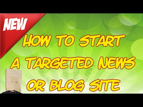 The Faceless Guru- How To Start a Targeted News or Blog Site