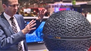 The Future Tire by Goodyear - It's a Sphere!