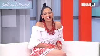 Natalia Jimenez | Hola TV | El Destino Feat Carlos Rivera