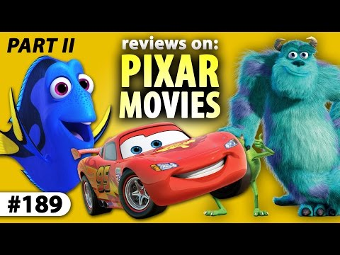 PIXAR MOVIE REVIEWS (Part II) - #MonstersInc To #FindingDory