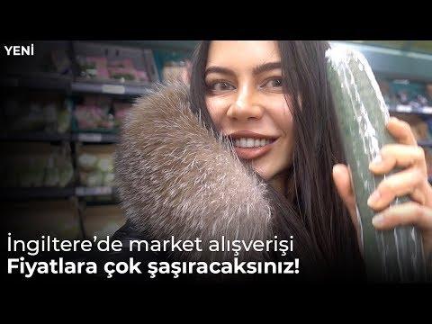 İngiltere'de Market Alışverişi ve Fiyatlar: TESCO