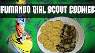 Buen Viaje Fumando Marihuana Girl Scout Cookies