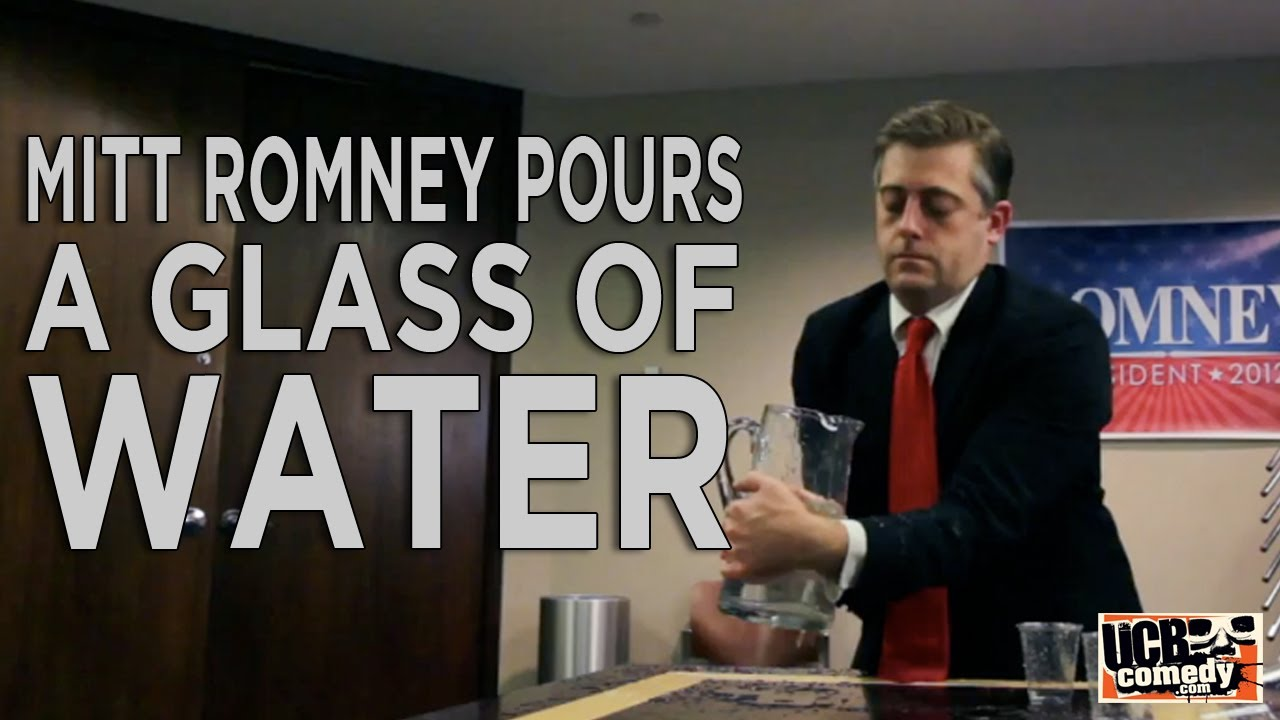 This Week's Top Web Comedy Video: Romney Pours a Glass of Water