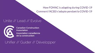 How FOMAC is adapting during COVID-19