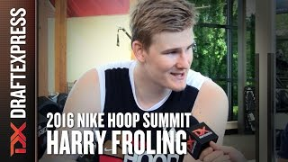2016 Harry Froling Nike Hoop Summit Interview - DraftExpress by DraftExpress