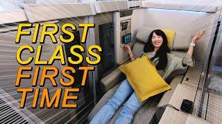บิน First Class ครั้งแรก! Airbus A380 กว้างขวางหรูหราจัดเต็มติดใจ #ซอฟท่องโลก