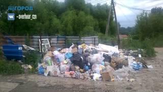 """Жалоба: """"В Соколовке уже 2 недели не вывозится мусор"""""""