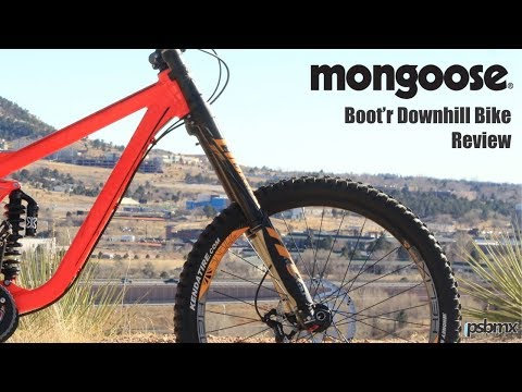 Mongoose Bicycles Boot'R Downhill MTB Bike Review