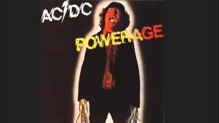AC/DC - Gone Shootin' Backing Track WITH Rhythm Guitar [HD]