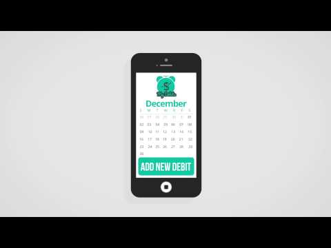 Video of My Debits Reminder App Free