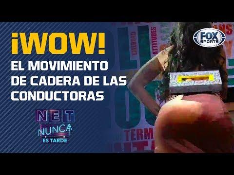 Movimiento de cadera de Erika Fernández, DJ Rossana y Betsy Reuss