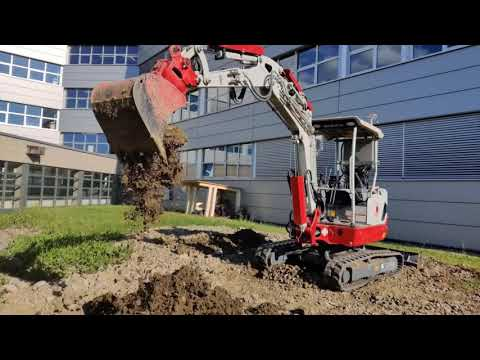 SODEX - software driven excavator in Aktion