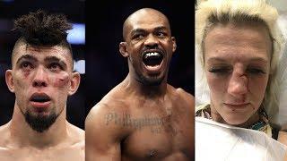 Джонни Уокер пригрозил Джону Джонсу, парень избил бывшего бойца UFC, боец уволен из UFC