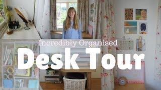 Desk Tour || Organisation Inspiration / Muji Storage