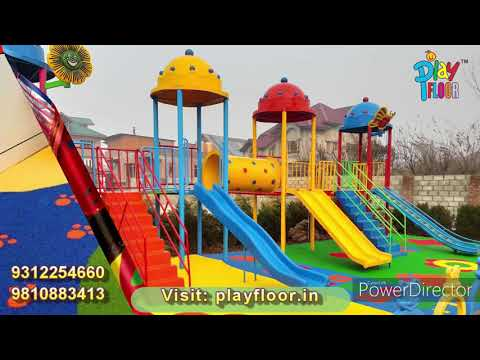 FRP Straight Slide For School And Park YK-41