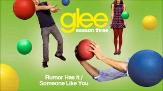 Glee - Rumor Has It / Someone Like You  (Cover)