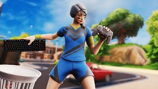 Pro PC Player Uses Controller In Fortnite Arena...