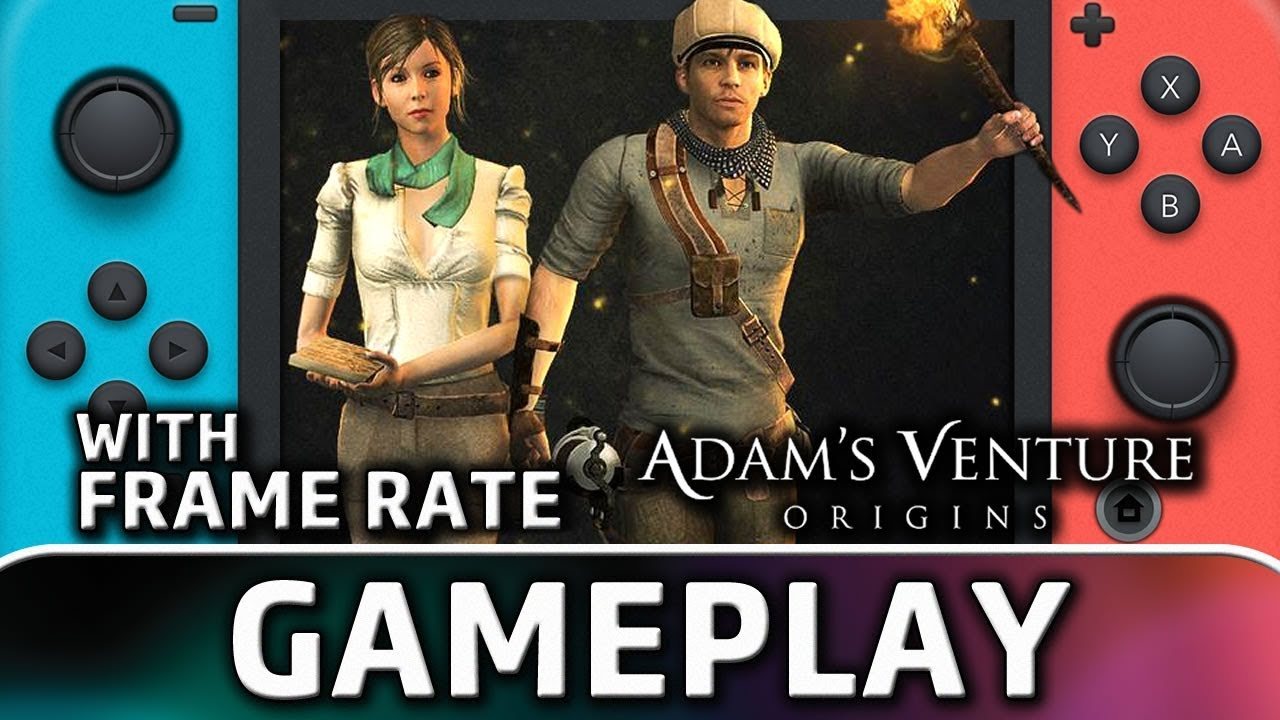 Adam's Venture Origins | Nintendo Switch Gameplay and Frame Rate