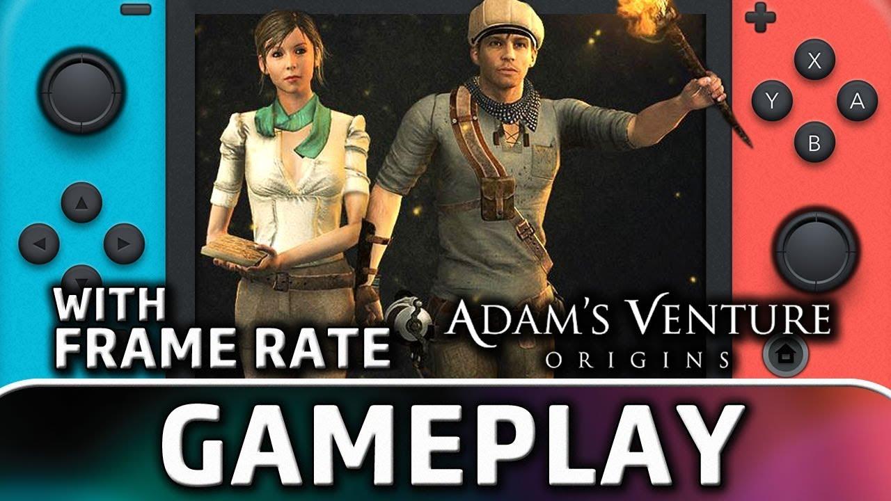 Adam's Venture Origins | Nintendo Switch Gameplay and Frame Rate