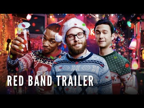 rogen mackie and gordon levitt are back in a new red band trailer for - The Night Before Christmas Trailer