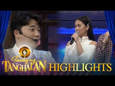 Tawag ng Tanghalan: Ryan wants to date Maja in a church