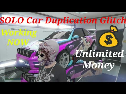 SOLO Car Duplication Glitch Unlimited Money GLITCH **PATCHED**GTA 5 Online