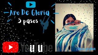 Tutorial - pasos de Aro de Gloria - Aro de Lluvia - danza cristiana.