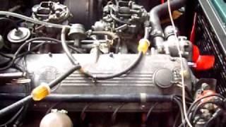 1972 BMW E9, 3.0cs engine start after 8 years