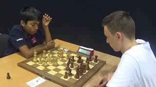 GM Praggnanandhaa Rameshbabu - IM Gorodetzky David, Blitz chess, French defense