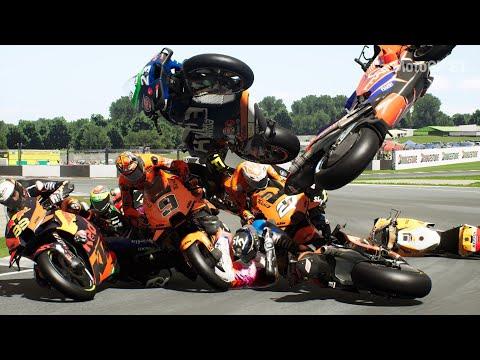 MotoGP™21 Monster Crash Compilation