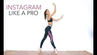 HOW TO TAKE INSTAGRAM PHOTOS AND VIDEOS - Tips For Dance And Ballet Accounts | Natalie Danza