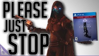 Stop Hyping Destiny 2 Forsaken (Warmind Was Cut Content & Bungie Might Sell Destiny) - dooclip.me