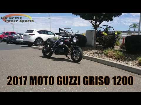 2017 Moto Guzzi Griso 1200 in Elk Grove, California