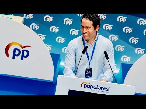 Teodoro García Egea inaugura el XV Congreso Autonómico del PP de la Comunidad Valenciana