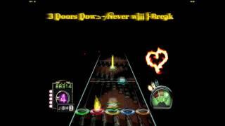 3 Doors Down - Never will I Break 100% FC / Guitar Hero 3 Custom Song (PC)