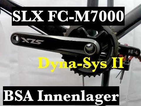 Shimano Kurbel SLX FC-M7000 und BSA Innenlager Demontage